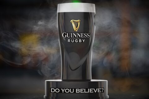 Guinness website HERO IMAGE