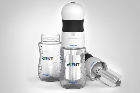 milk warmer product design