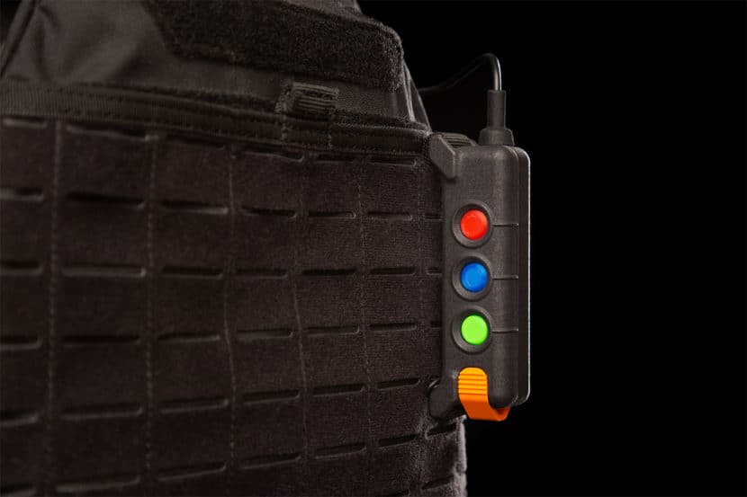 2iC wearable device on vest
